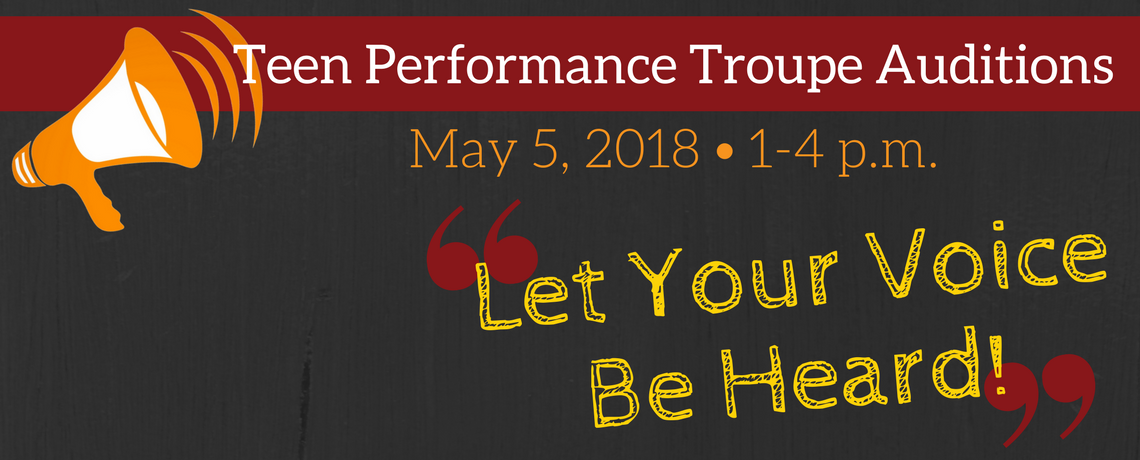 TeenFest Performance Troupe Auditions
